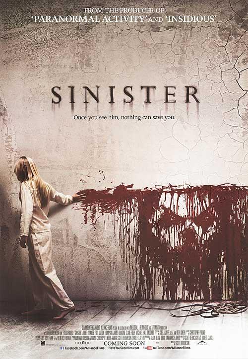 Sinister starring Ethan Hawke