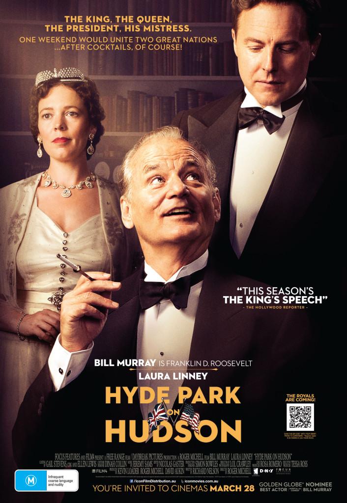 Hyde Park on Hudson starring Bill Murray