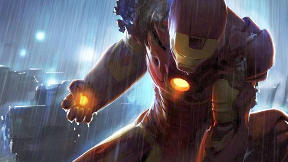 Iron Man 3 starring Robert Downey Jr