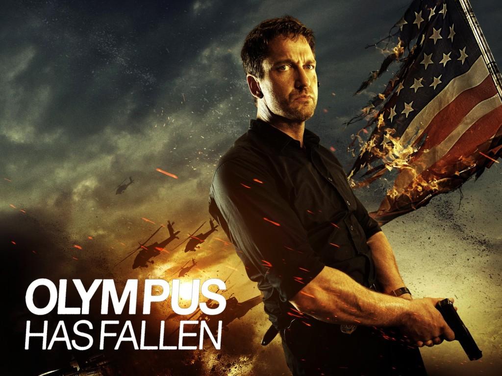 Olympus Has Fallen starring Gerard Butler