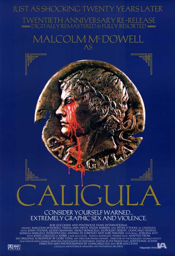 Caligula starring Malcolm McDowell