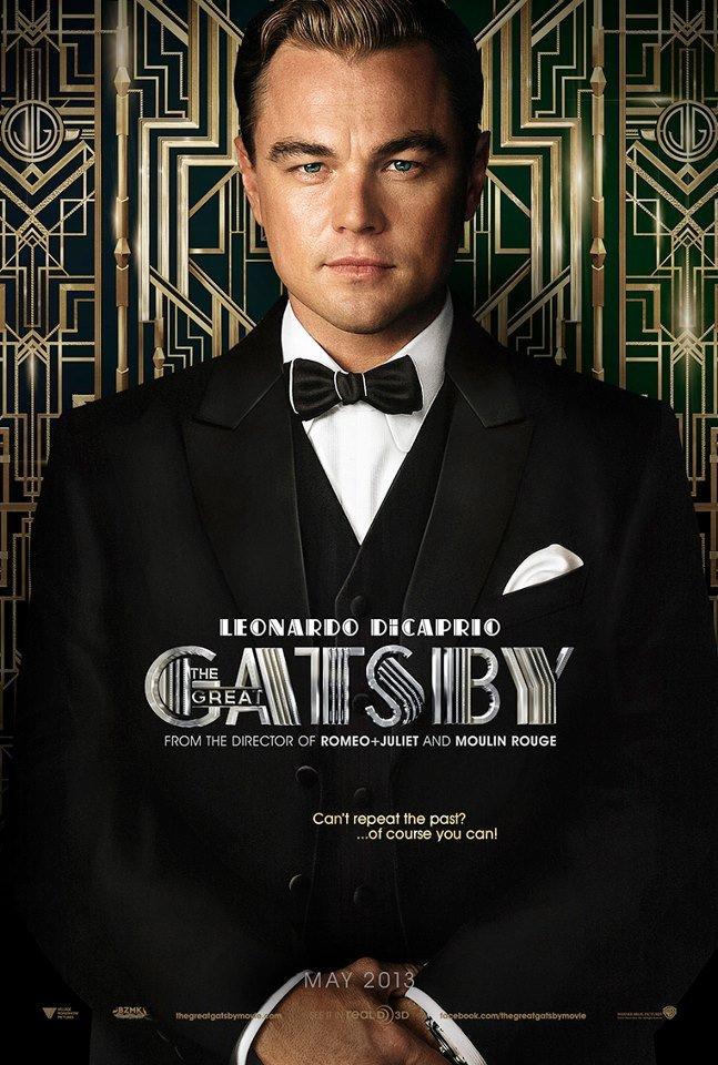 Leonardo DiCaprio is The Great Gatsby