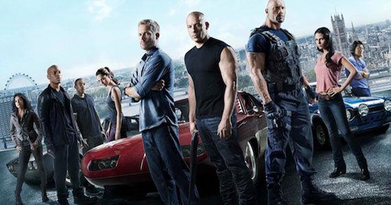 Fast and Furious 6 - Vin Diesel, Paul Walker, Dwayne Johnson