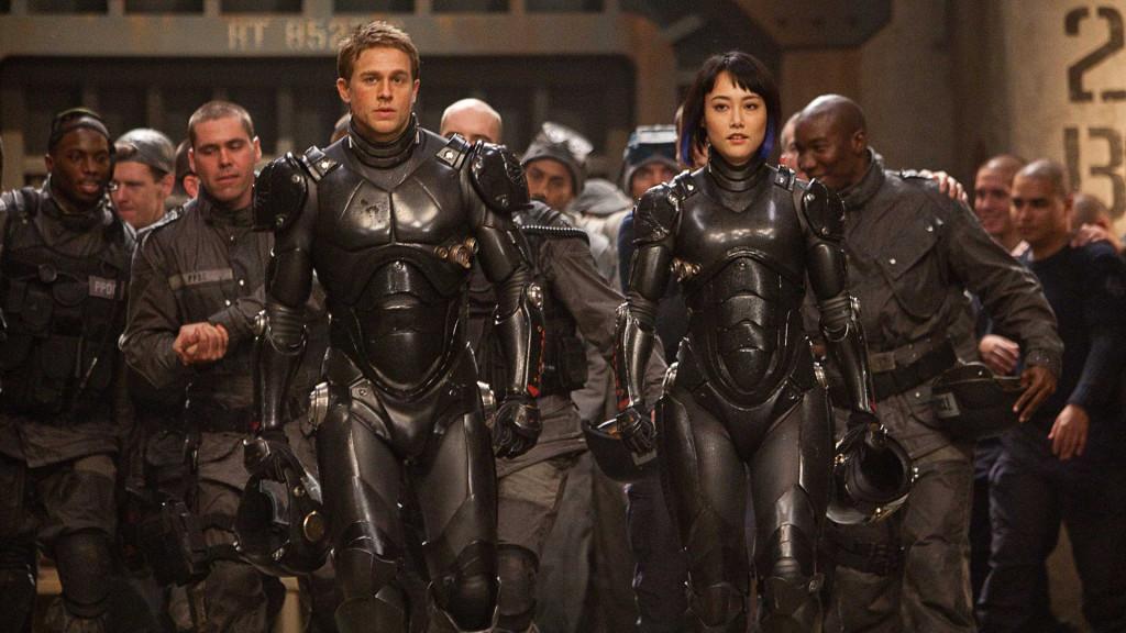 Guillermo del Toro's PACIFIC RIM starring Charlie Hunnam, Idris Elba and Rinko Kikuchi