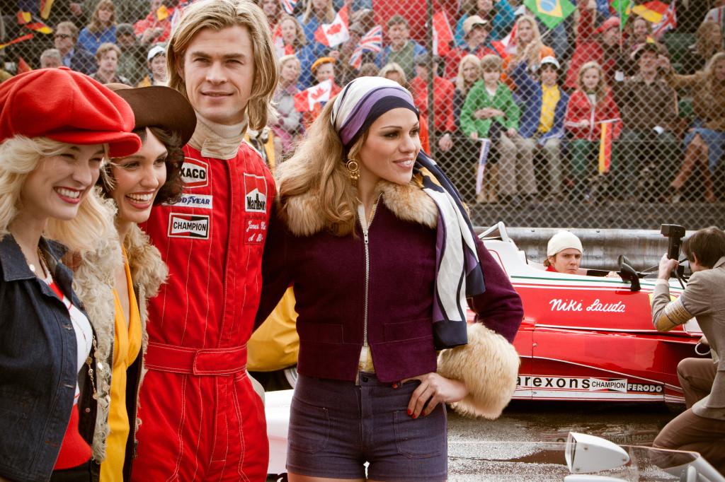 Peter Morgan, Ron Howard, Chris Hemsworth, Daniel Bruhl, Olivia Wilde, Alexandra Maria Lara, Rush, F1, Formula One Movie, car racing, Rush Review