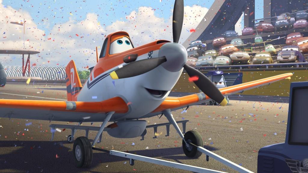 Dane Cook, Stacy Keach, Brad Garrett, Teri Hatcher, Cedric the Entertainer, Julia Louis-Dreyfus, John Cleese, PLanes, PLanes 3D, PLanes Movie, Planes Review, Pixar, Disney, Klay Hall
