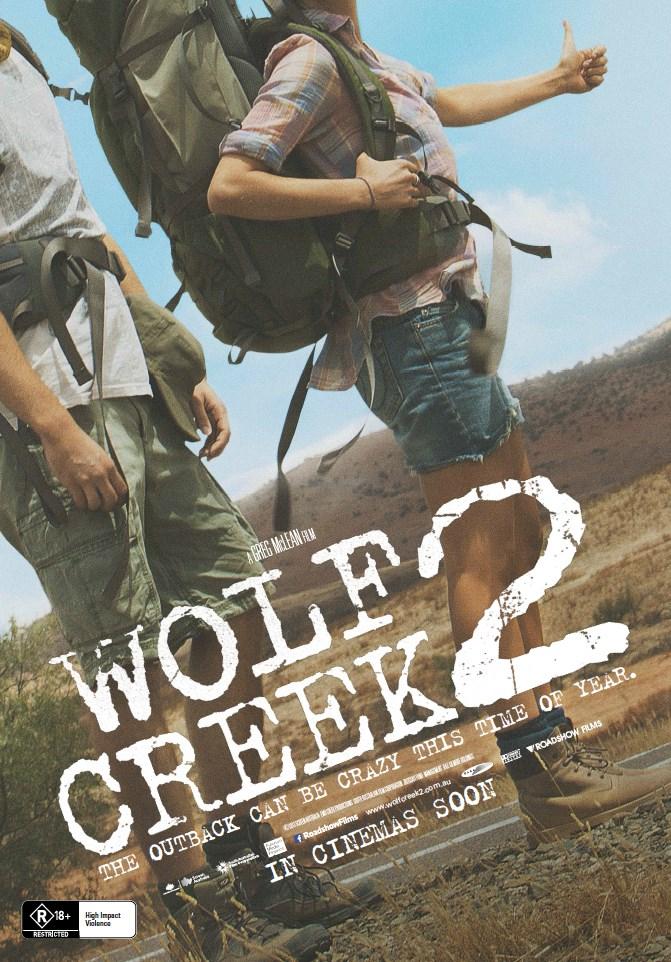 Greg Mclean, John Jarratt, Ryan Corr, Shannon Ashlyn, Aaron Sterns, Mick Taylor, Australian Outback, Serial Killer Film, Wolf Creek, Wolf Creek 2, Wolf Creek 2 Trailer