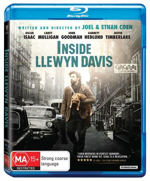 INSIDE LLEWYN DAVIS BLU RAY COVER IMAGE