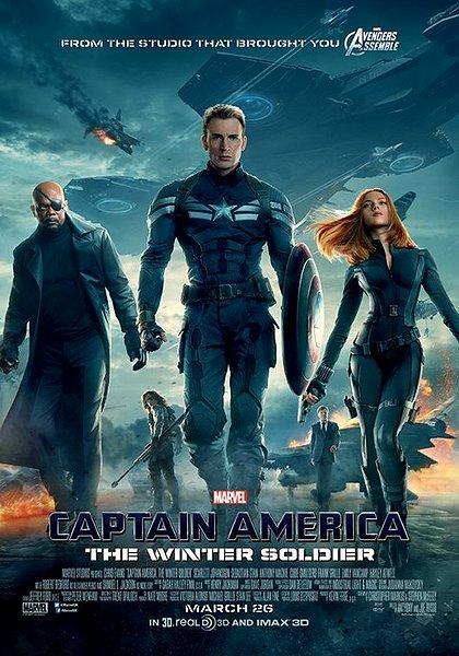 Captain America, Film Review, The Winter Soldier, Salty Popcorn, John McParland, Chris Evans, Scarlett Johansson, Samuel L. Jackson, Robert Redford, Marvel, Anthony Russo, Joe Russo