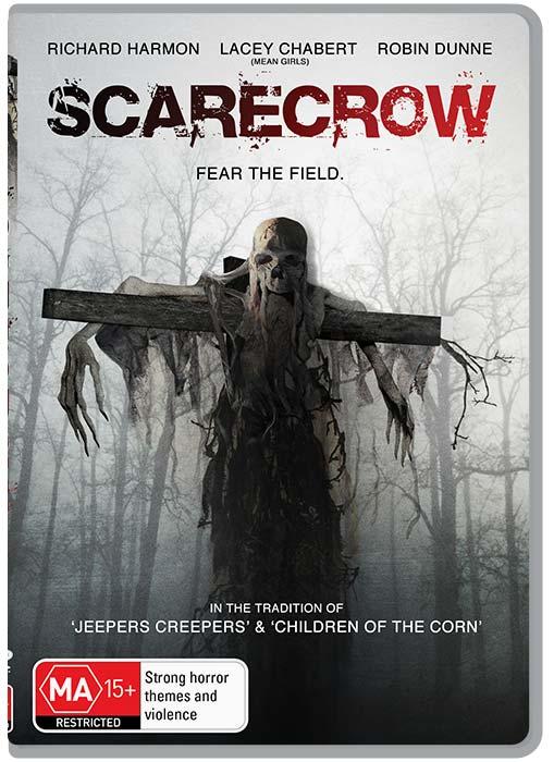 SCARECROW HORROR MOVIE 2103 - DVD COVER