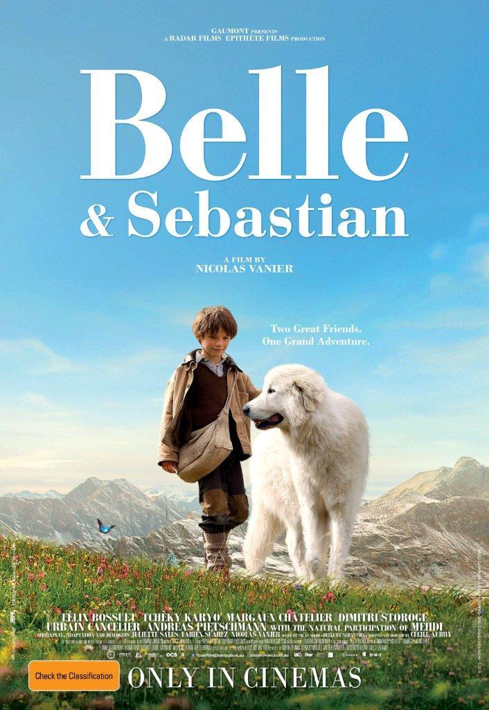 BELLE & SEBASTIAN MOVIE POSTER IMAGE