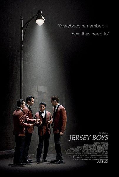 JERSEY BOYS MOVIE POSTER IMAGE