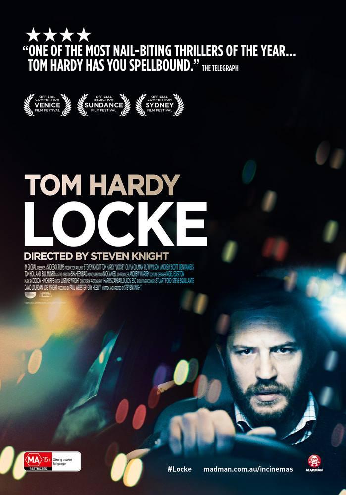 LOCKE MOVIE POSTER image