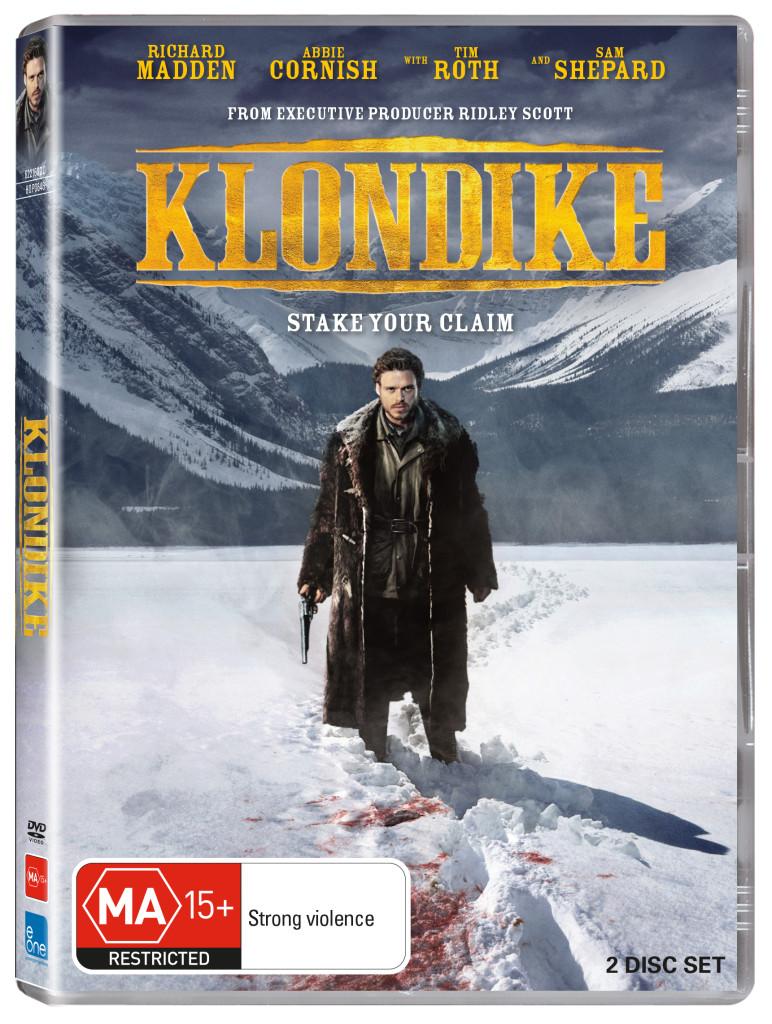 KLONDIKE AUSTRALIAN DVD COVER IMAGE