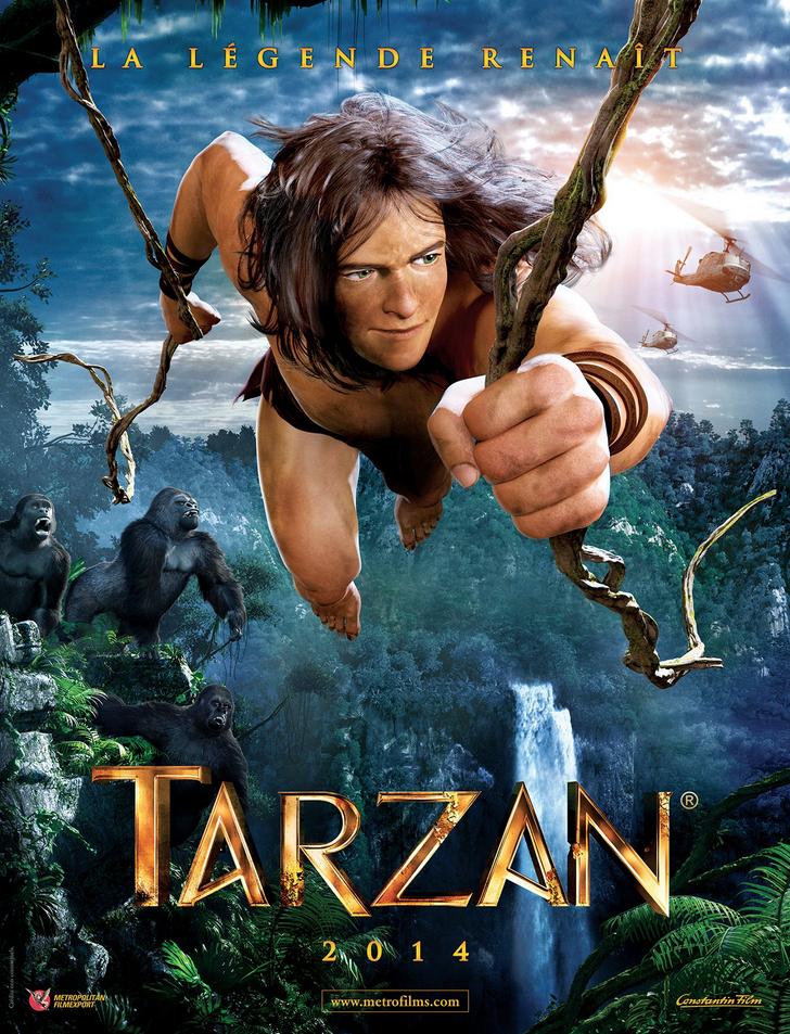 TARZAN MOVIE POSTER IMAGE