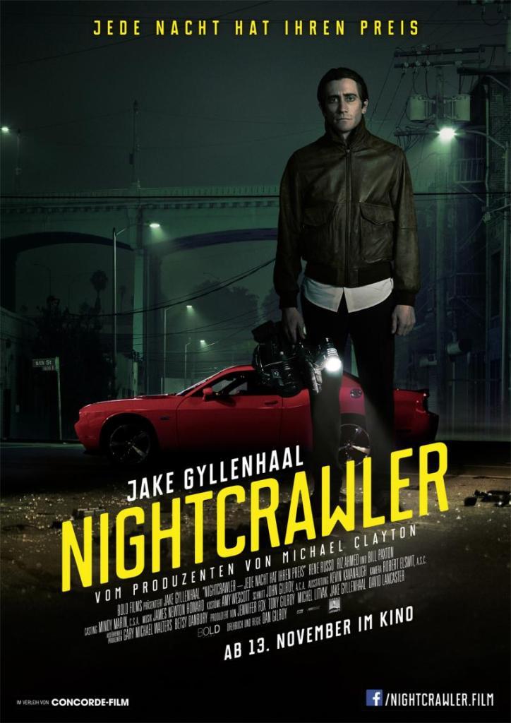 NIGHTCRAWLER MOVIE POSTER IMAGE