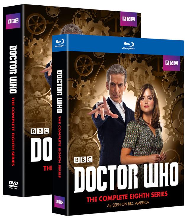 DOCTOR WHO SEASON 8 BLU RAY COVER IMAGE