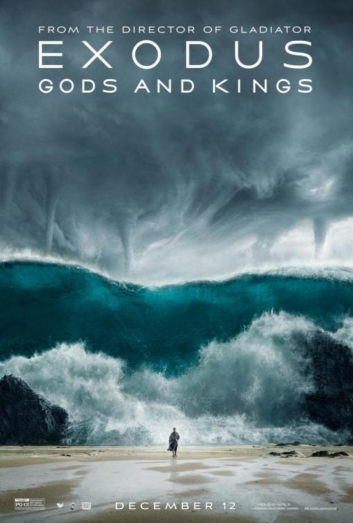 EXODUS: GODS AND KINGS WAVE MOVIE POSTER IMAGE
