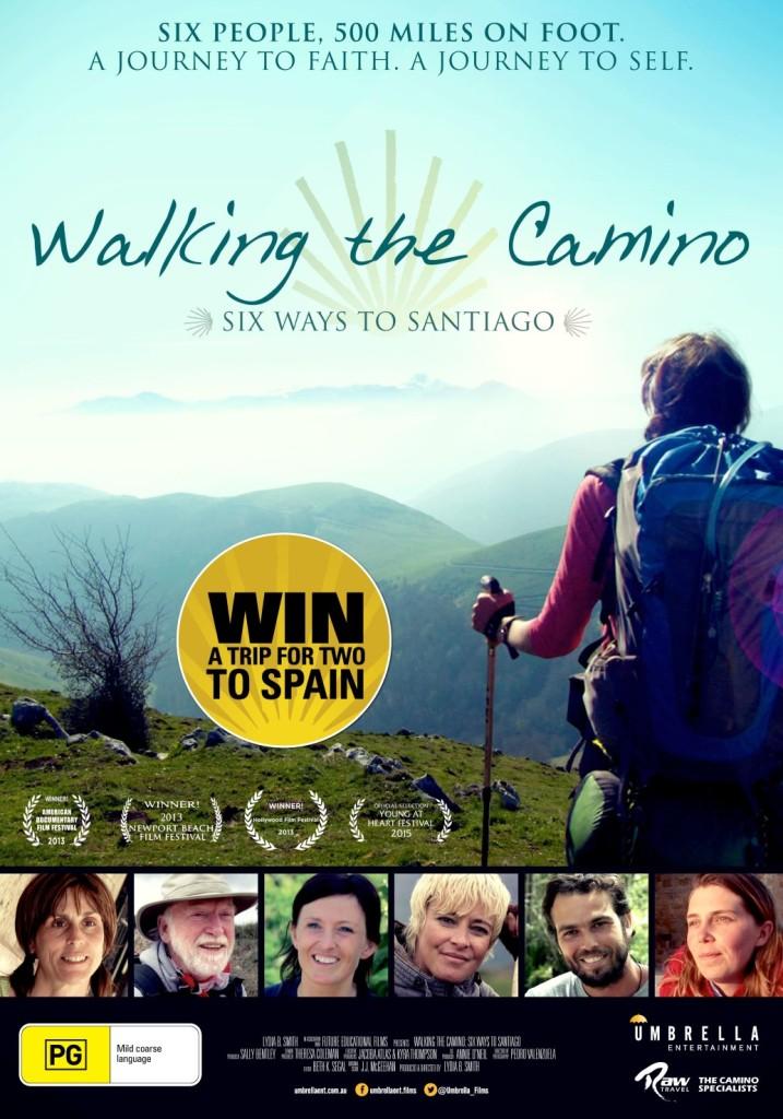 WALKING THE CAMINO POSTER IMAGE
