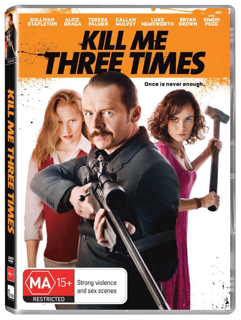 kill me three times dvd cover image