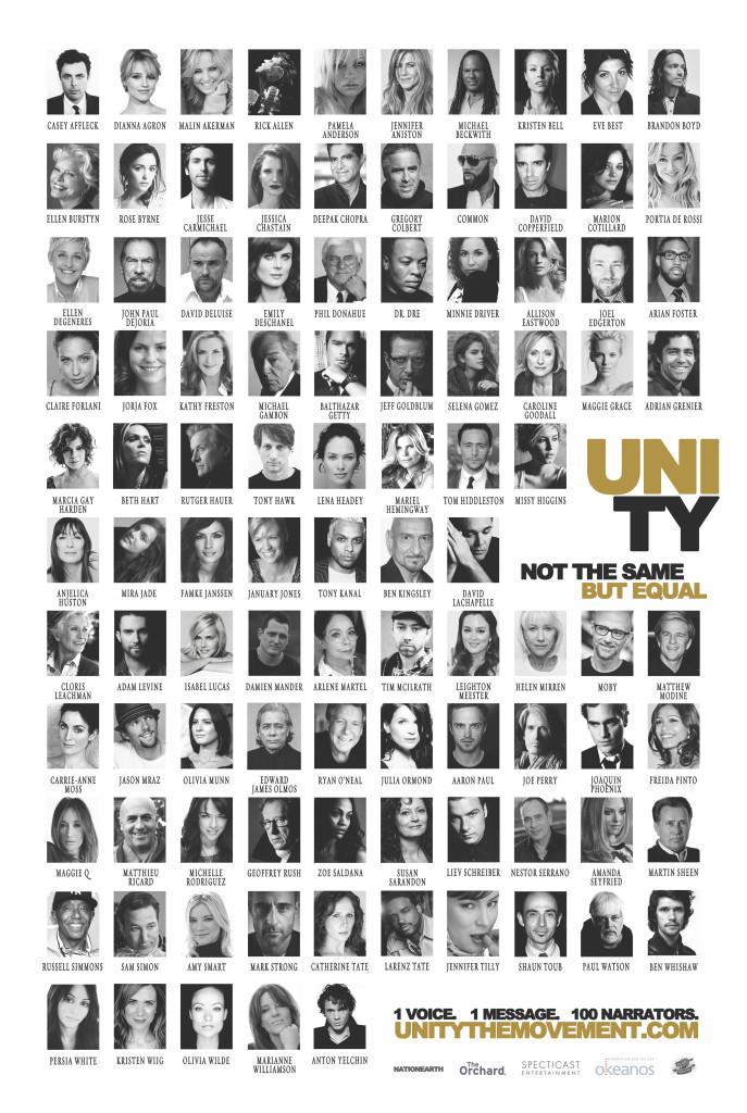 unity CAST movie POSTER image
