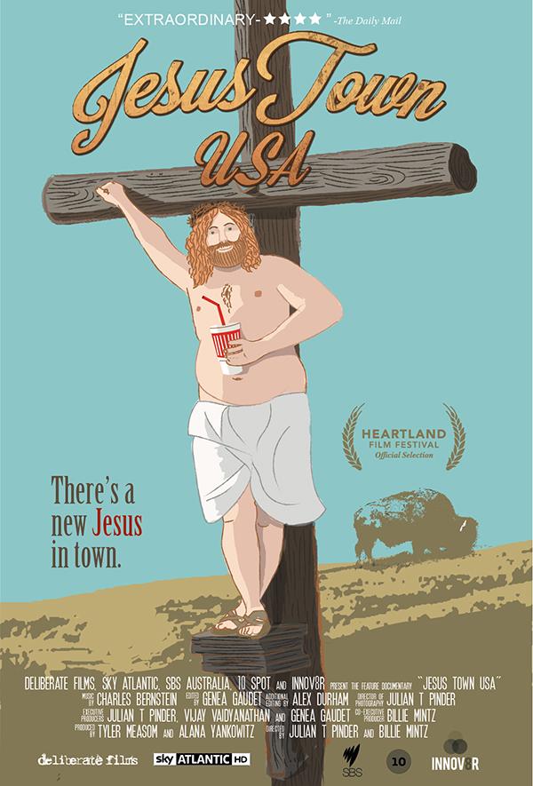 JESUS TOWN, USA MOVIE POSTER IMAGE