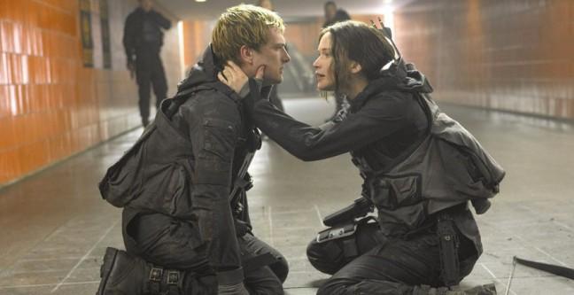 Mockingjay Part Peeta and Katniss image