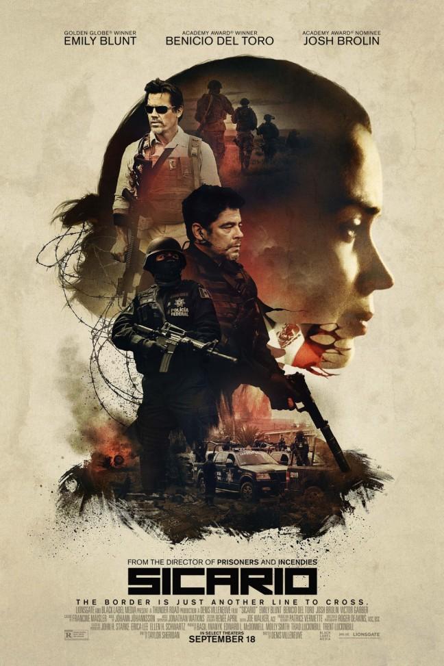 Sicario Movie Poster Image