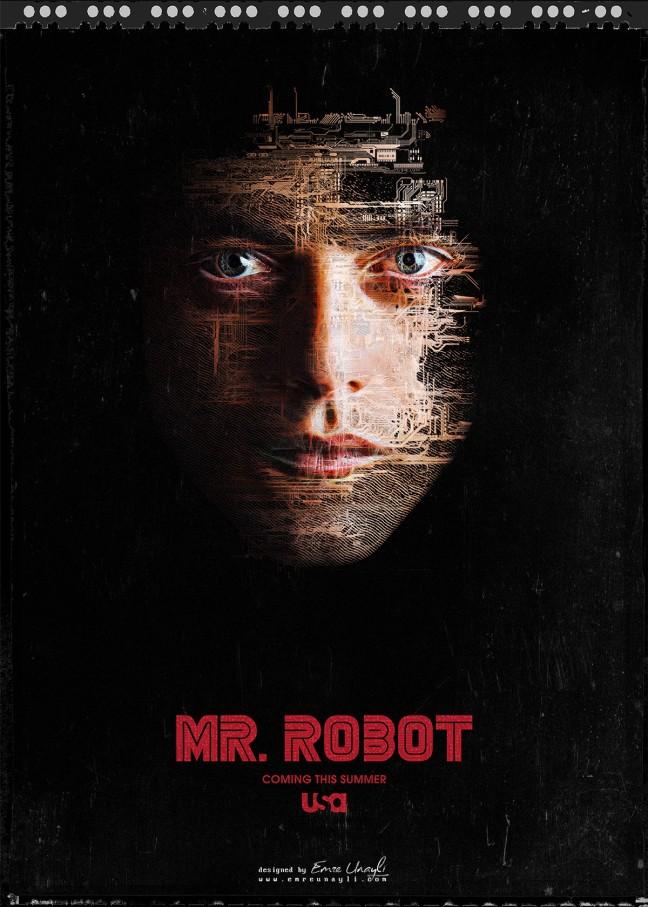 mr robot poster image