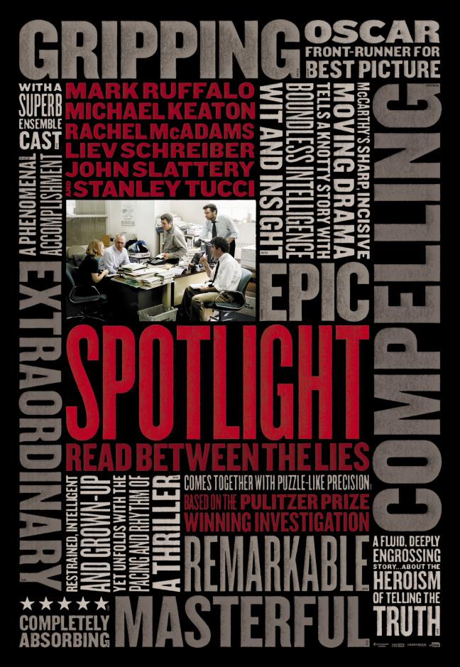 spotlight movie poster image