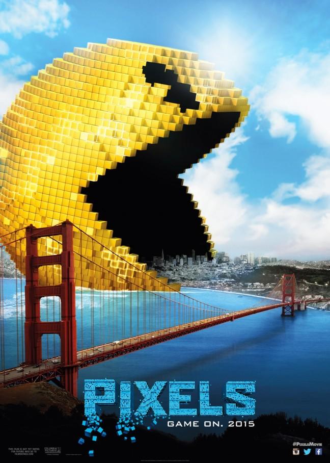 Pixels Movie Poster Image