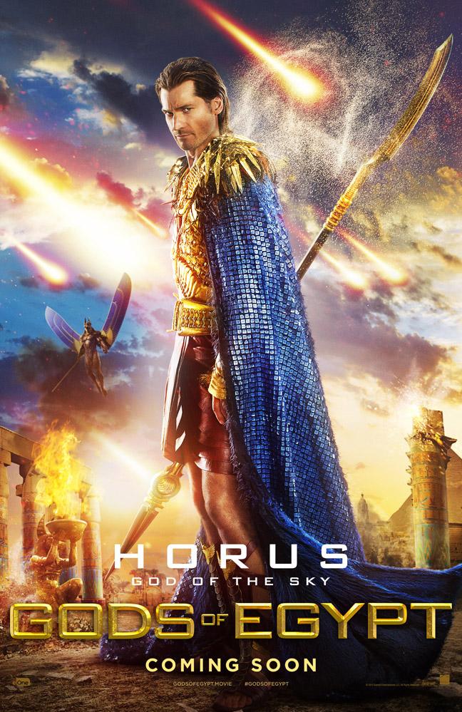 gods of egypt horus Nikolaj Coster-Waldau poster image
