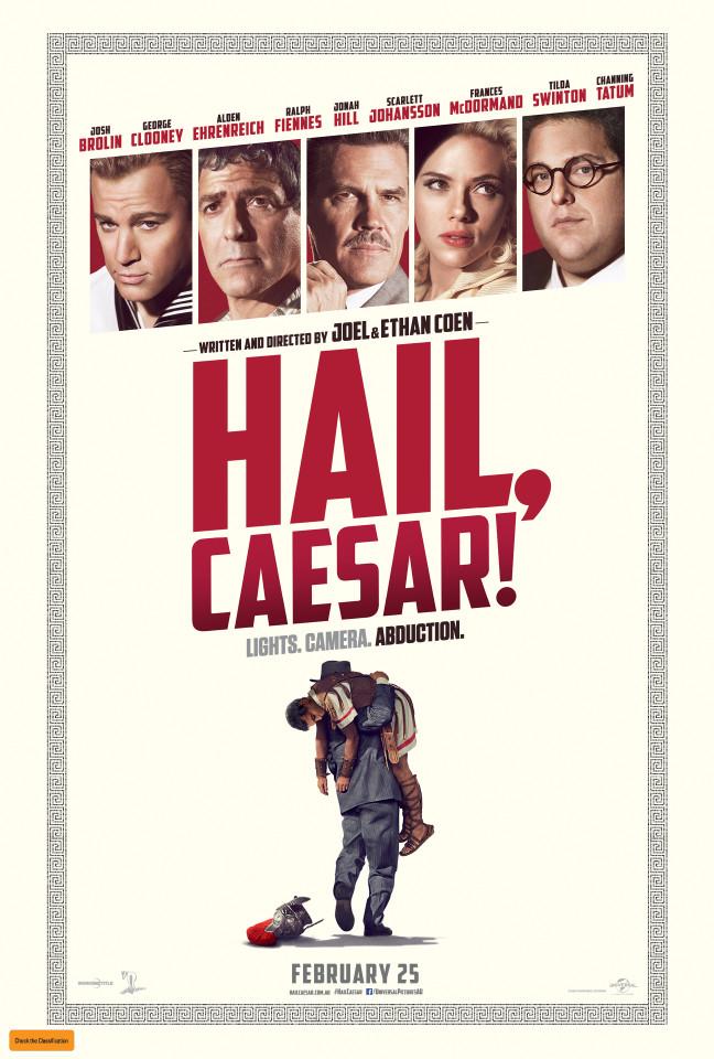 Hail, Caesar! Movie poster image