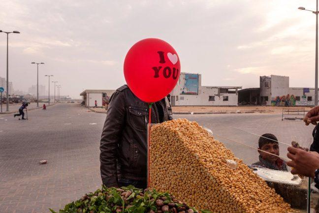 Granta 134 I Love You Red Ballon image