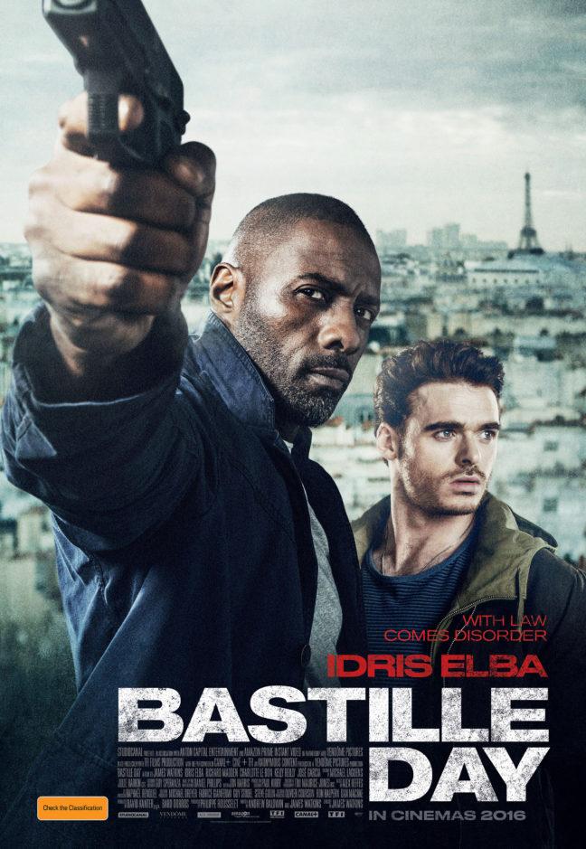 Bastille Day Movie Poster image