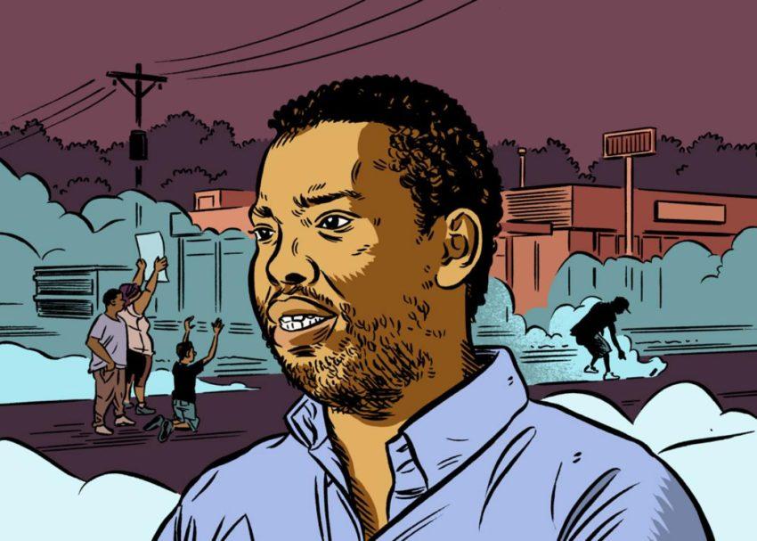 Ta-Nehisi Coates Author Illustration by Ethan Rilly