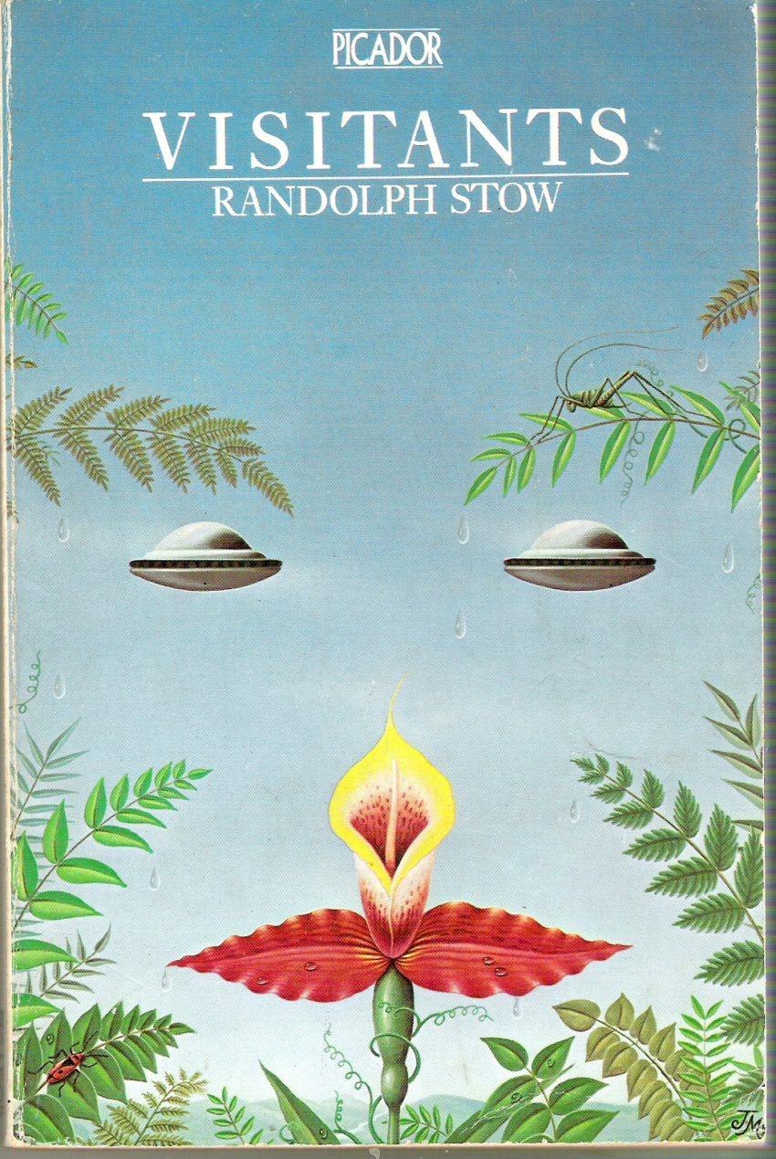 visitants book cover art work image