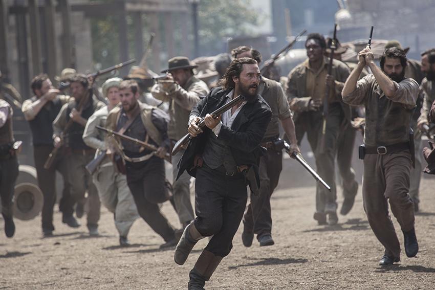 Free State of Jones Newton Knight (Matthew McConaughey) and his men image