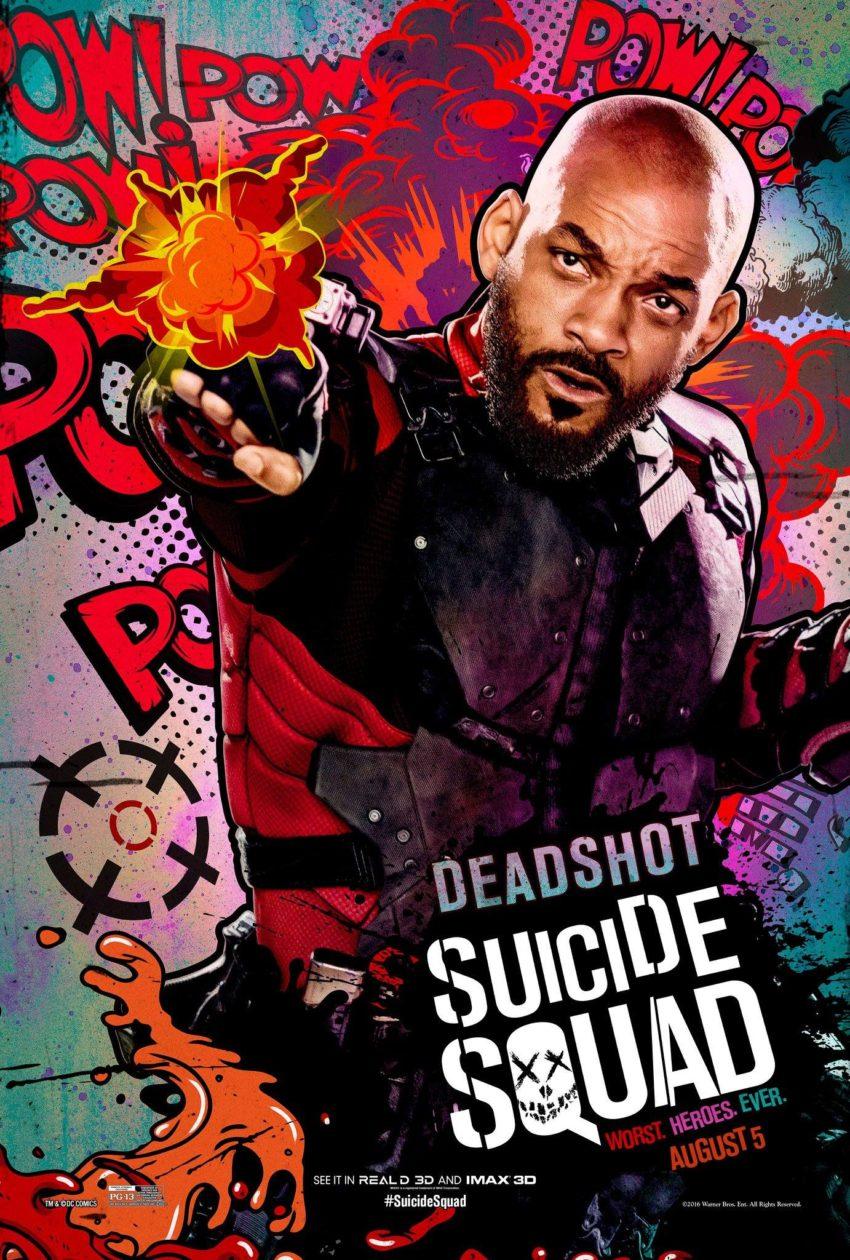 Suicide Squad Deadshot Poster image