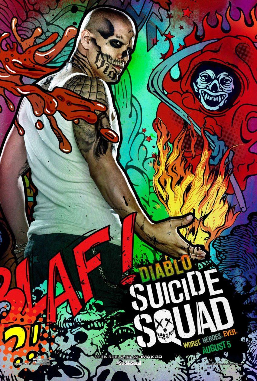 Suicide Squad Diablo Poster image