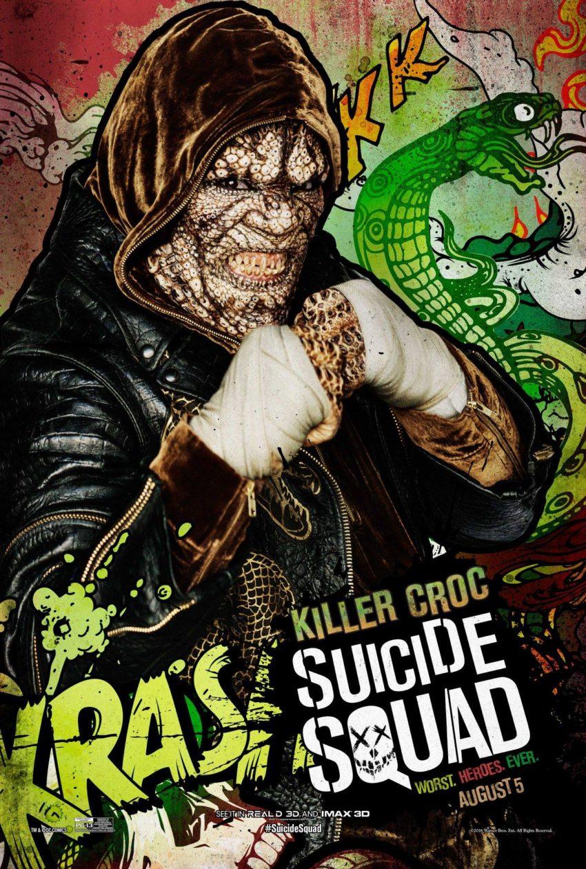 Suicide Squad Killer Croc Poster image
