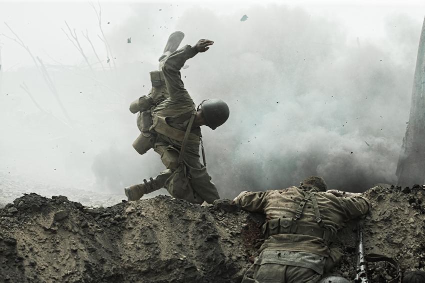 Hacksaw Ridge War Action image