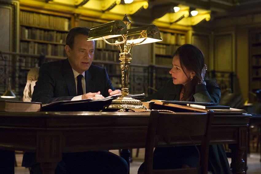 Inferno Tom Hanks and Sidse Babett Knudsen image