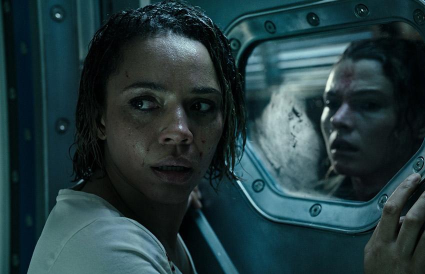Alien Covenant Amy Seimetz and Carmen Ejogo image