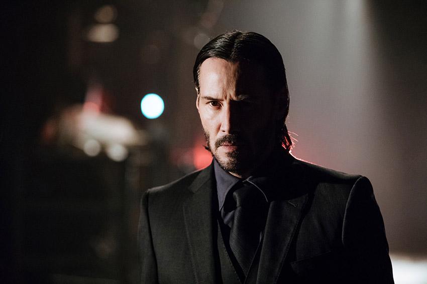 Keanu Reeves as John Wick in John Wick 2