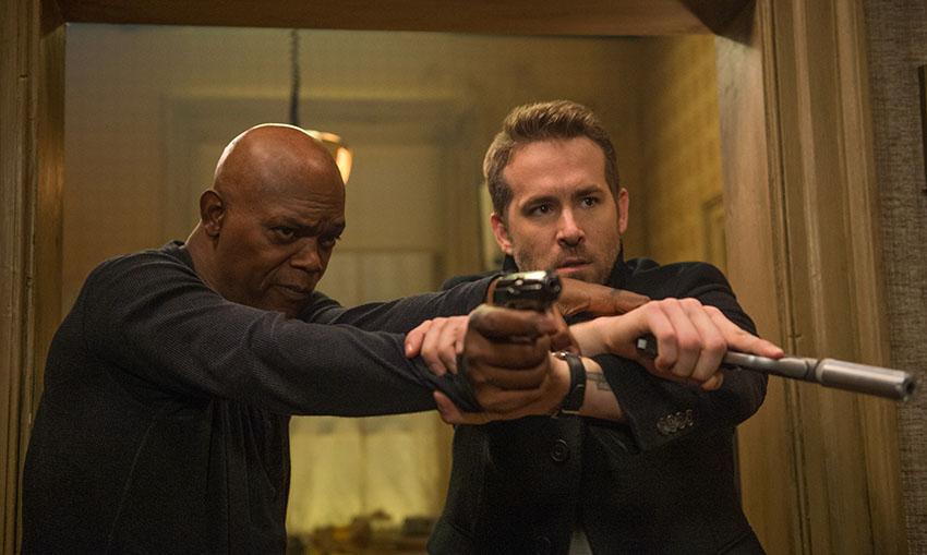 The Hitmans's Bodyguard Samuel L Jackson Ryan Reynolds image