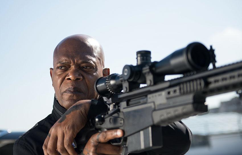 The Hitmans's Bodyguard Samuel L Jackson image