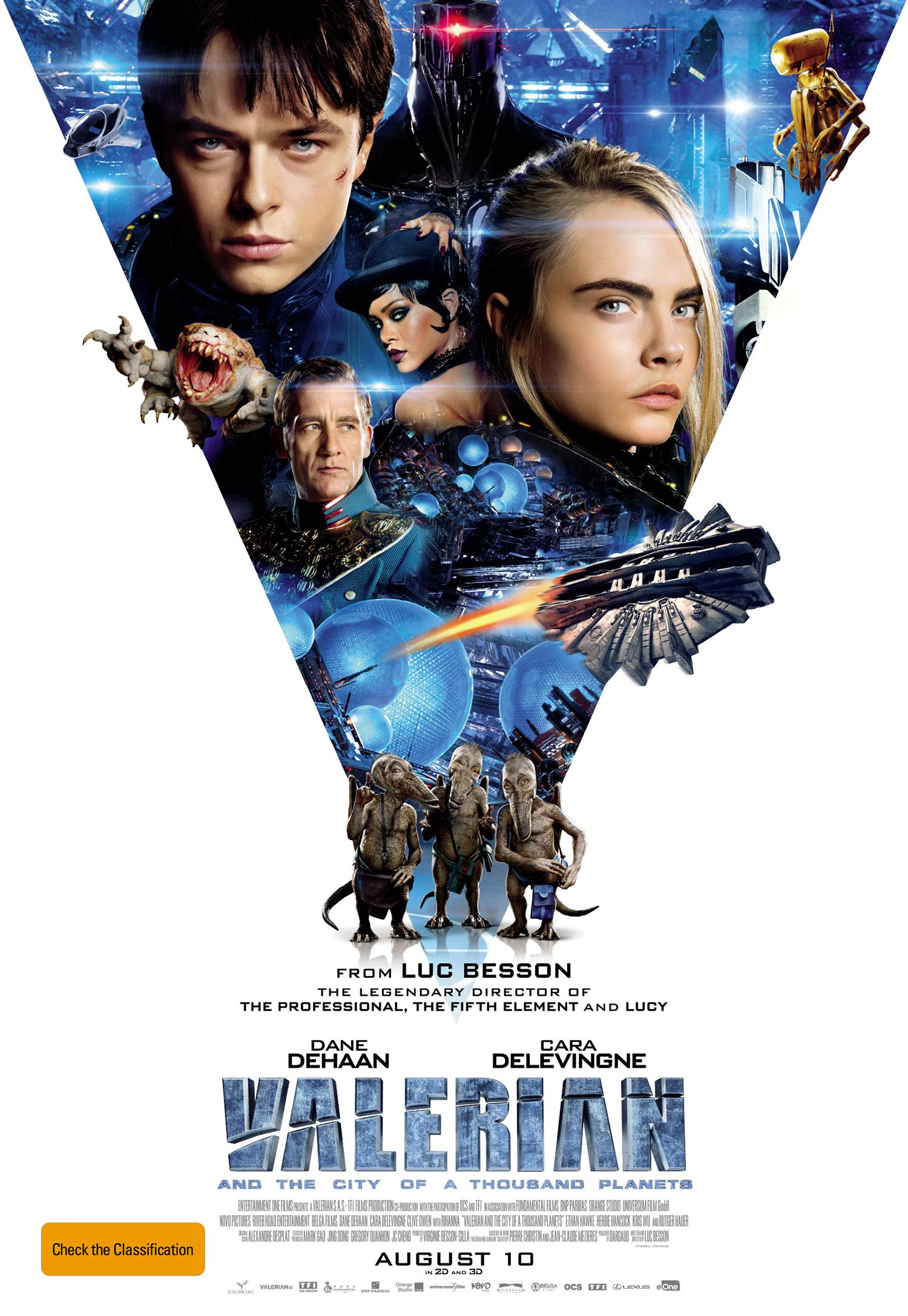 Valerian Movie Poster image