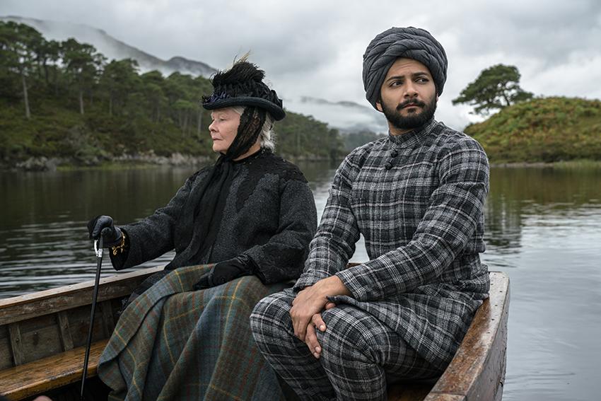 Victoria & Abdul Judi Dench and Ali Fazal image