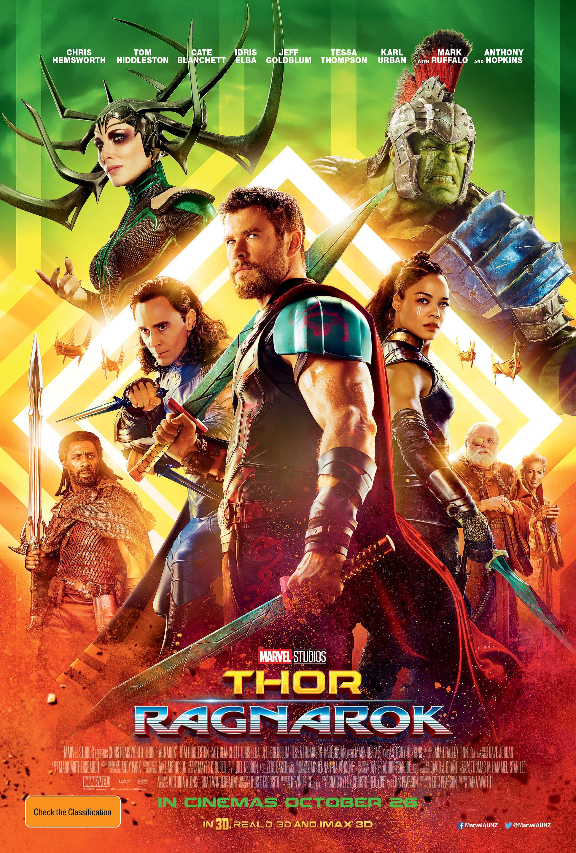 Thor Ragnarok Movie Poster image